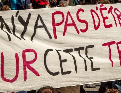 Contrôles policiers au campement des Gayeulles à Rennes !